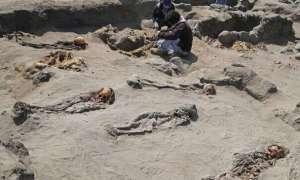Na terenie Peru znaleziono szczątki setek dzieci zabitych w ramach rytualnego mordu