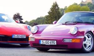 Bratobójczy pojedynek Porsche 911 pokazał wpływ lat na markę