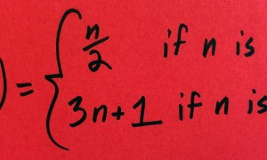 82-letni problem matematyczny Collatza rzucił matematyków na kolana
