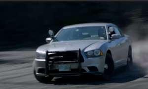 Policyjny Dodge Charger przetestowany w rajdzie