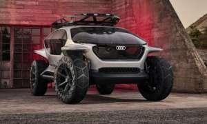 To nie pojazd na Marsa, a elektryczny koncept Audi AI:Trail