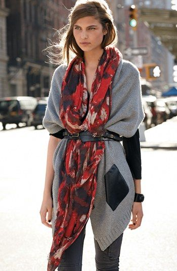 scarf tuck two