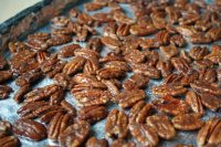 Cinnamon & Stevia Roasted Pecans