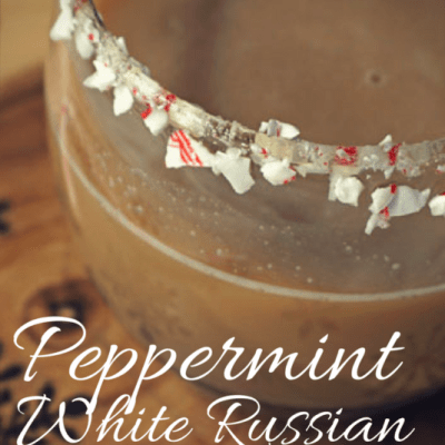 Peppermint White Russian Recipe (with Almond Milk)