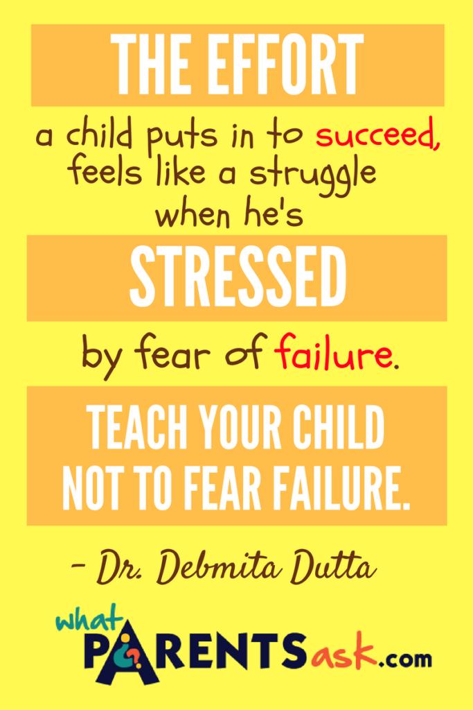 Effort is stressful when you fear failure