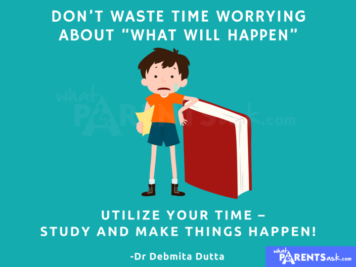 what to do when you are worried about exam results