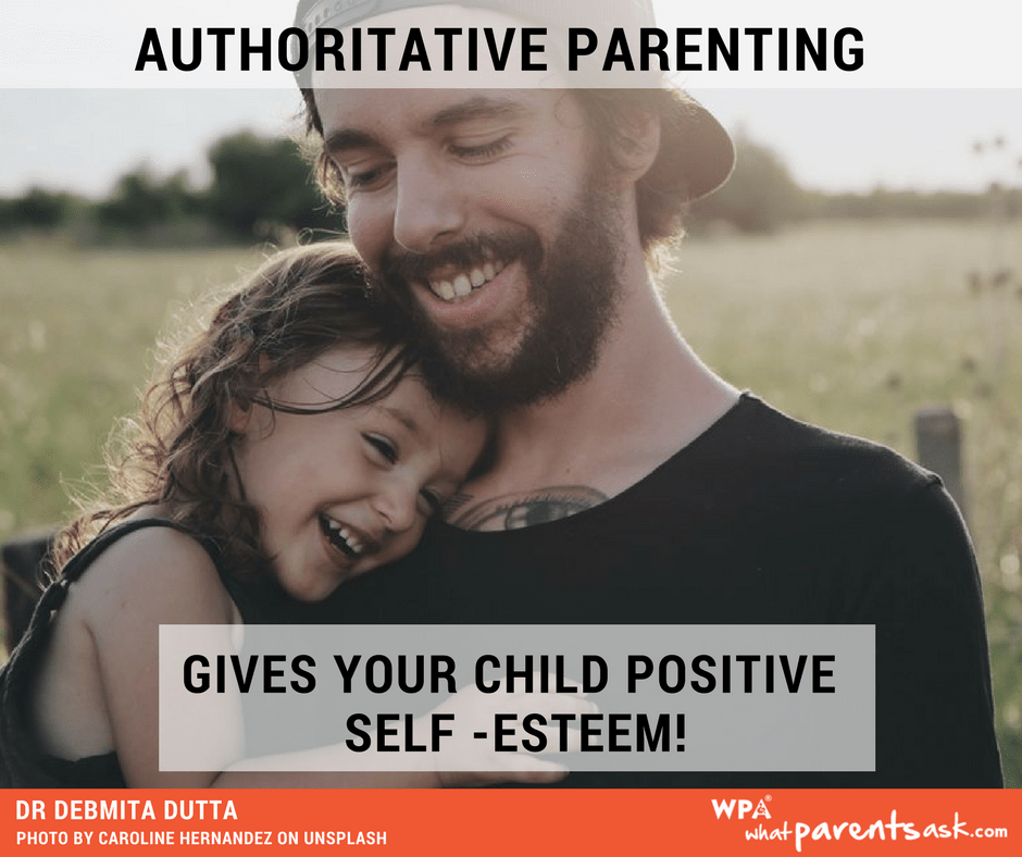 authoritative parenting builds positive self-esteem