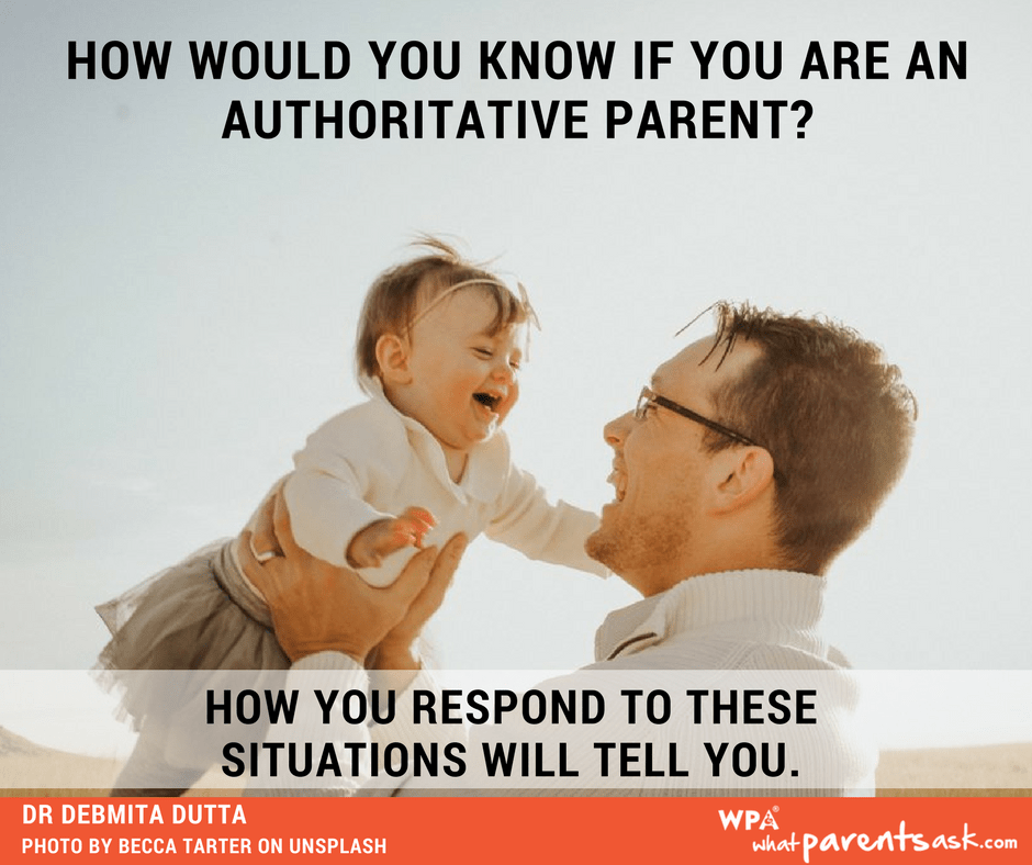 how will you know if you are an authoritative parent