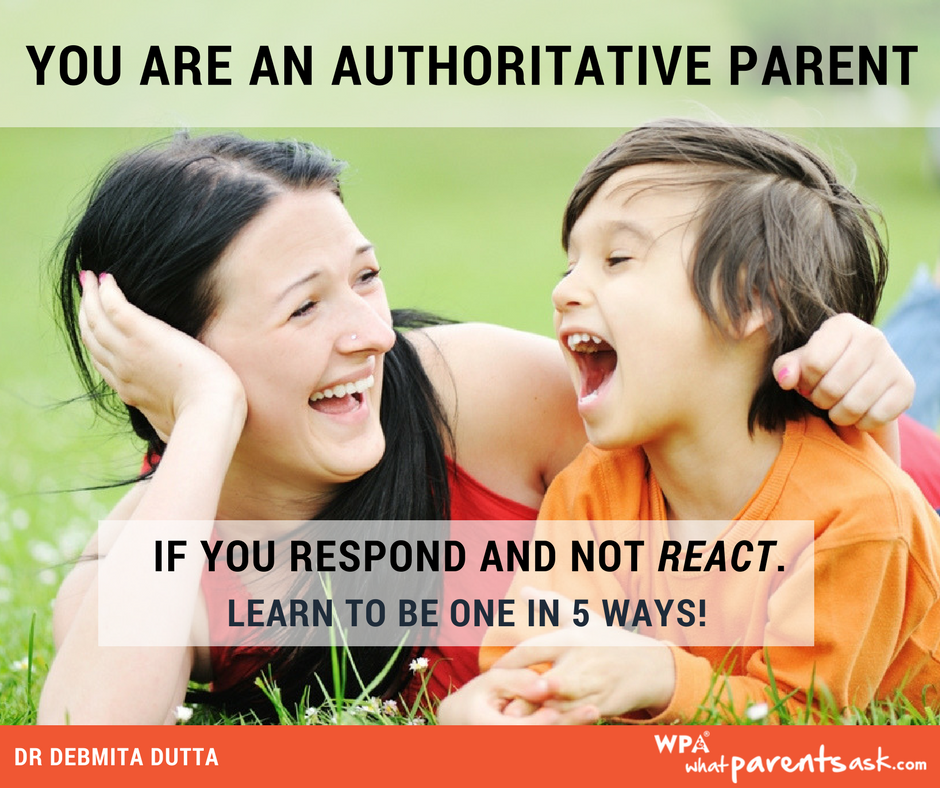 learn how to be an authoritative parent
