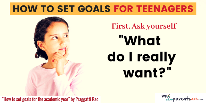 how to set goal for teenagers