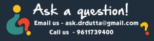 ask dr debmita dutta a question