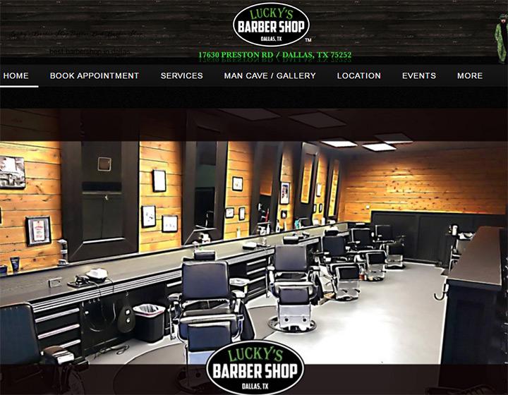 100 Barber Shop Amp Shave Parlor Web Designs