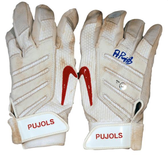 pujols batting gloves, pujols nike