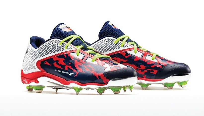 under armour deception cleats