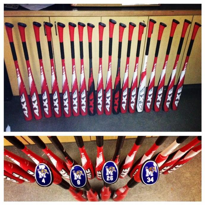 Memphis swings Axe Bat exclusively.