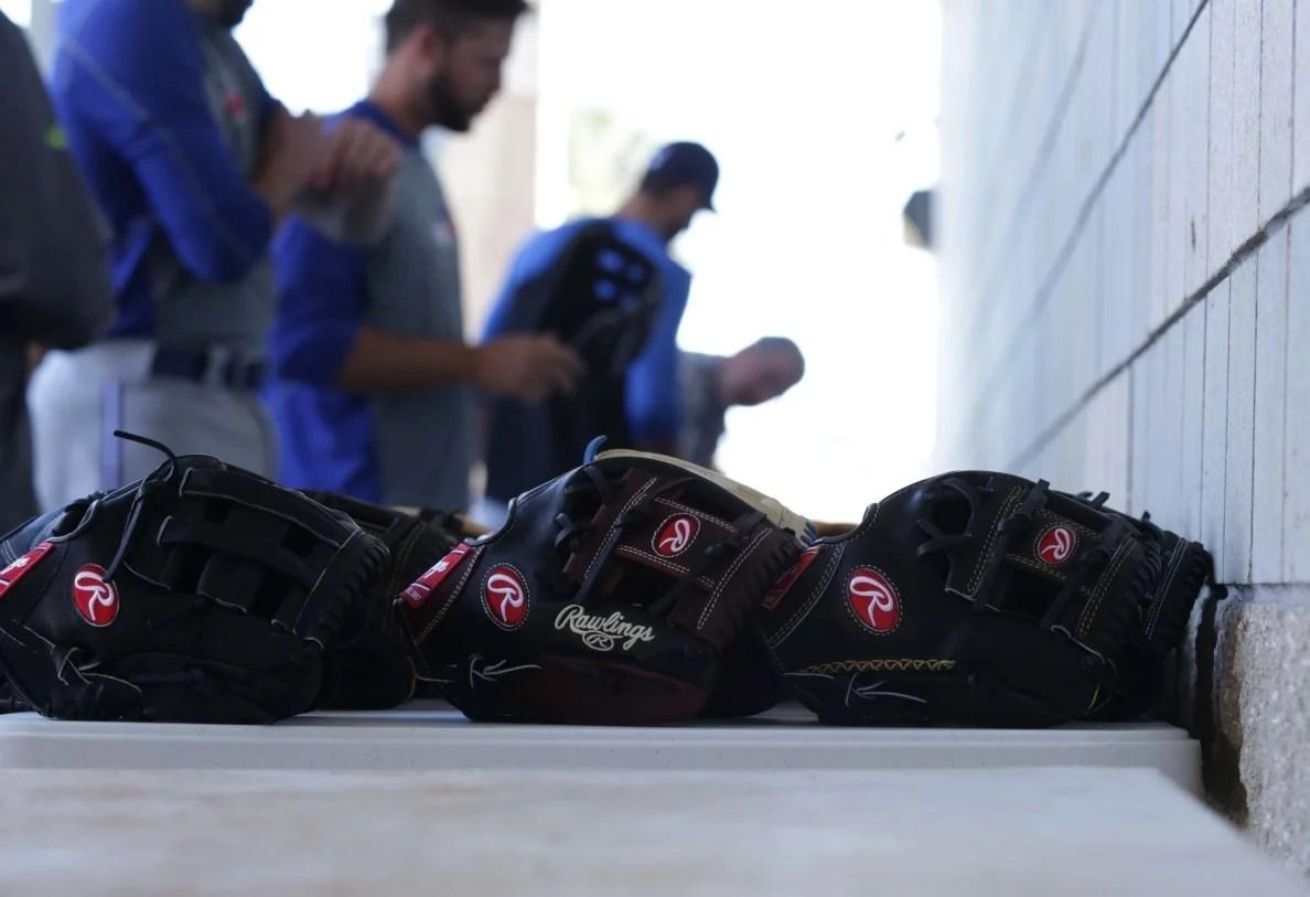 Rawlings Glove Day Toronto Blue Jays