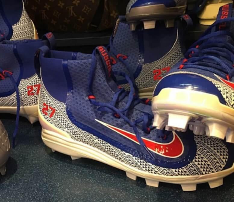 Addison Reed Nike Huarache 2K Filth Cleats