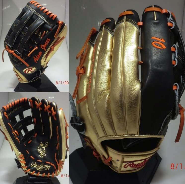 Adam Jones Gold Glove