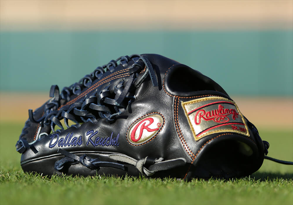Dallas Keuchel Rawlings Glove