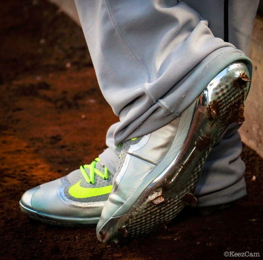 Jose Fernandez Nike Huarache 2K Filth Cleats