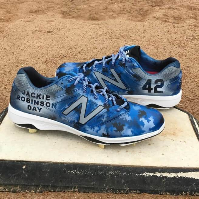 Curtis Granderson Jackie Robinson Day 2017 Cleats