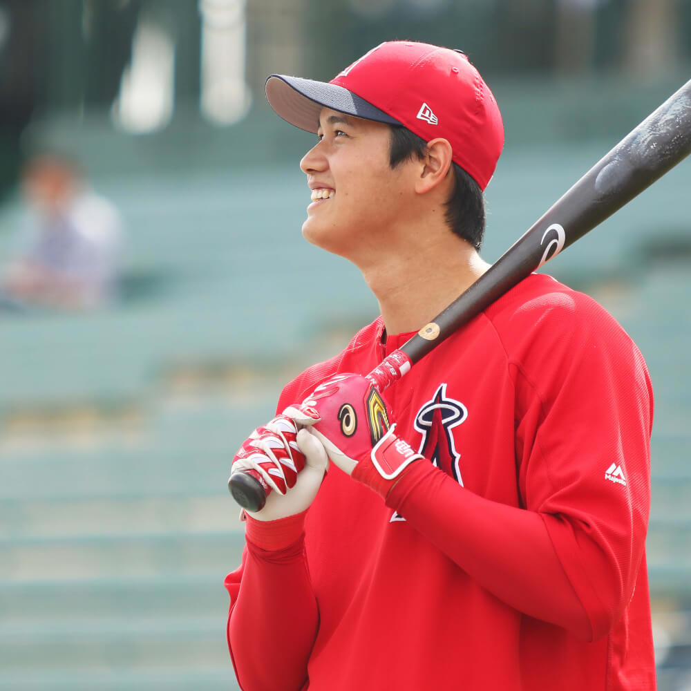 What Pros Wear: Shohei Ohtani's Bat, Batting Gloves ...