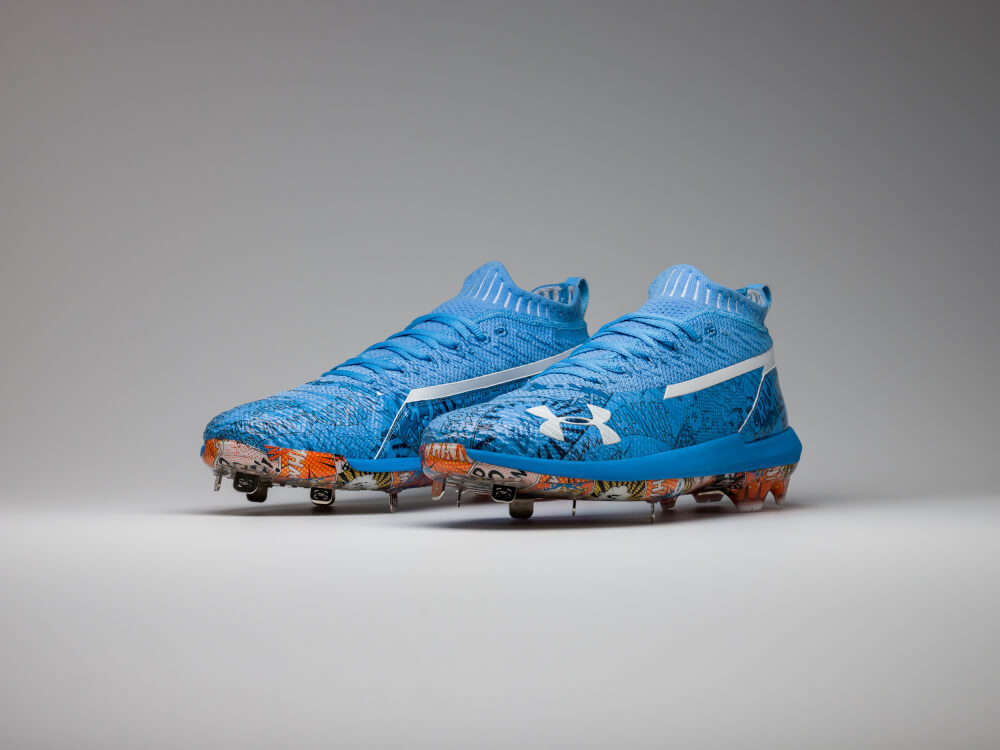 """a8dce2efb395 Following up their Memorial Day debut of the Harper 3, Under Armour will  celebrate Father's Day with a pair of special make-up cleats to honor the  first """" ..."""