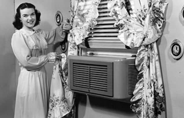 H.H. Schultz and J.Q. Sherman  invented the first window air conditioner.