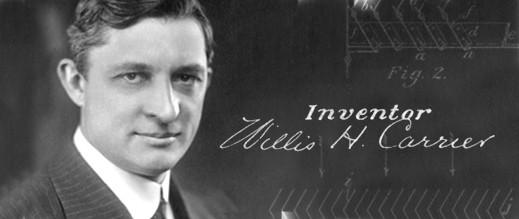 Willis Carrier - Inventor of Modern Air Conditioner