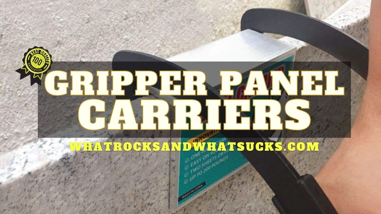 GRIPPER PANEL CARRIERS