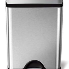 10 Best Stainless Steel Trash Cans For Your Kitchen