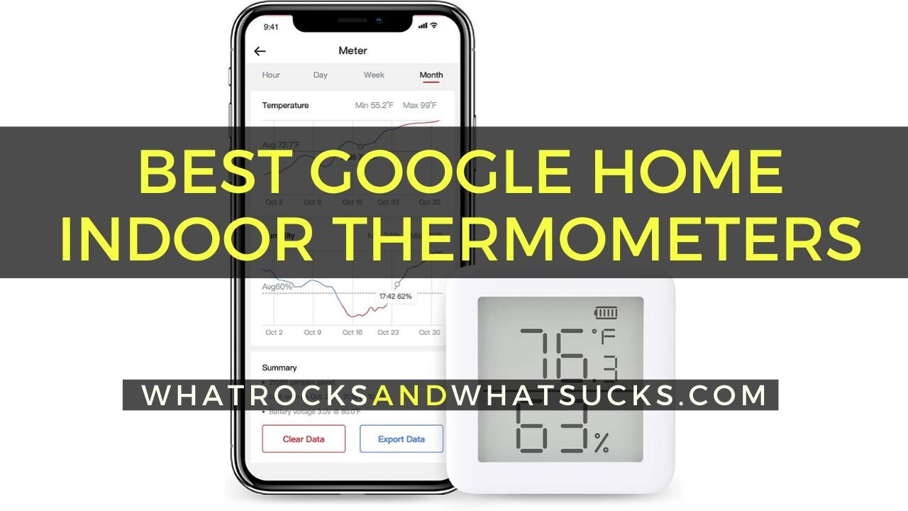 INDOOR THERMOMETER GOOGLE HOME