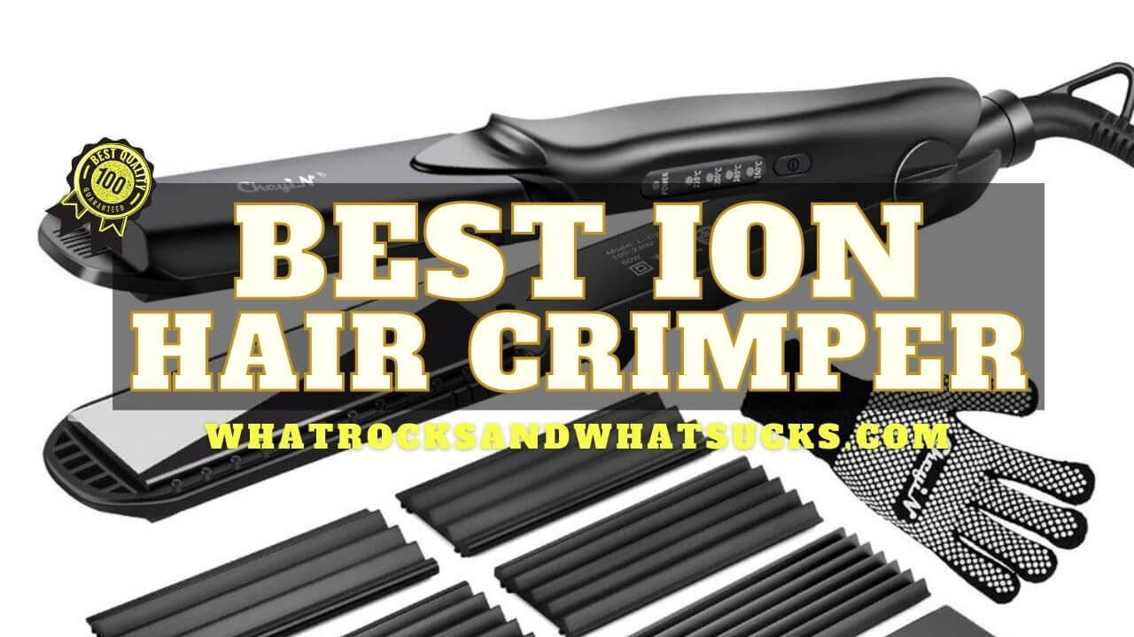 ION HAIR CRIMPER
