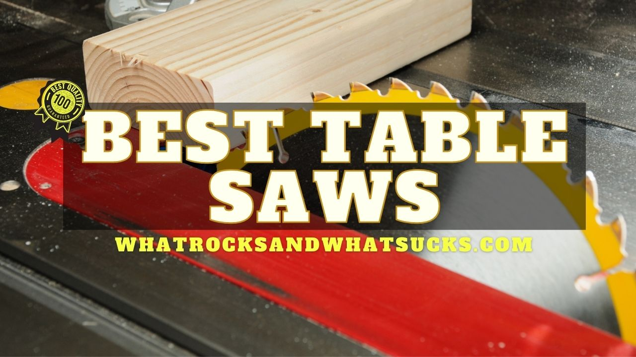 10 BEST TABLE SAWS