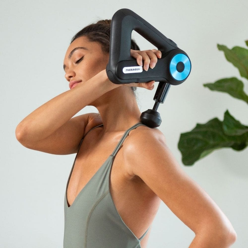 Using a Massage Gun on Your Neck the Right Away