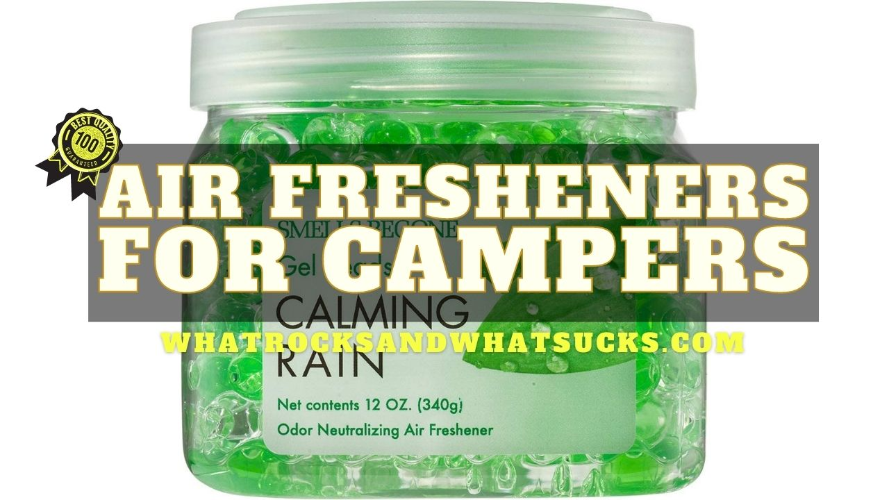 BEST AIR FRESHENERS FOR CAMPERS