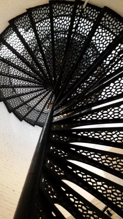 177 stairs up the lighthouse.