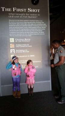 Fort Sumter Jr Rangers