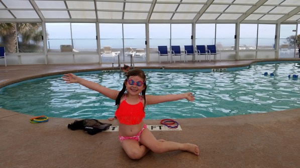 Swimming Lainey