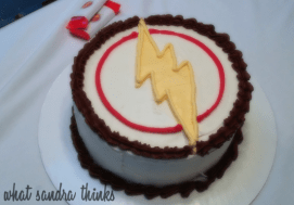 the flash cake.