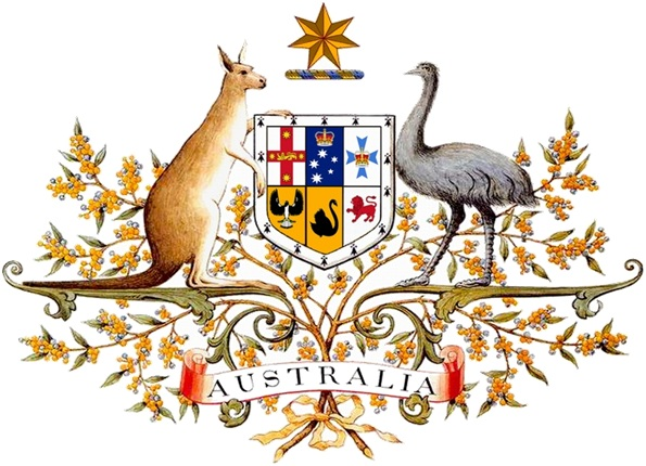 What is The National Coat of Arms of Australia?