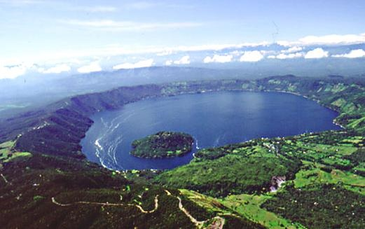 What is The Famous Lake of El Salvador?