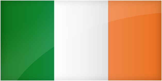 What is The National Colors of Ireland?
