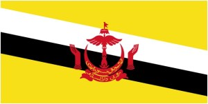 What is The National Flag of Brunei?