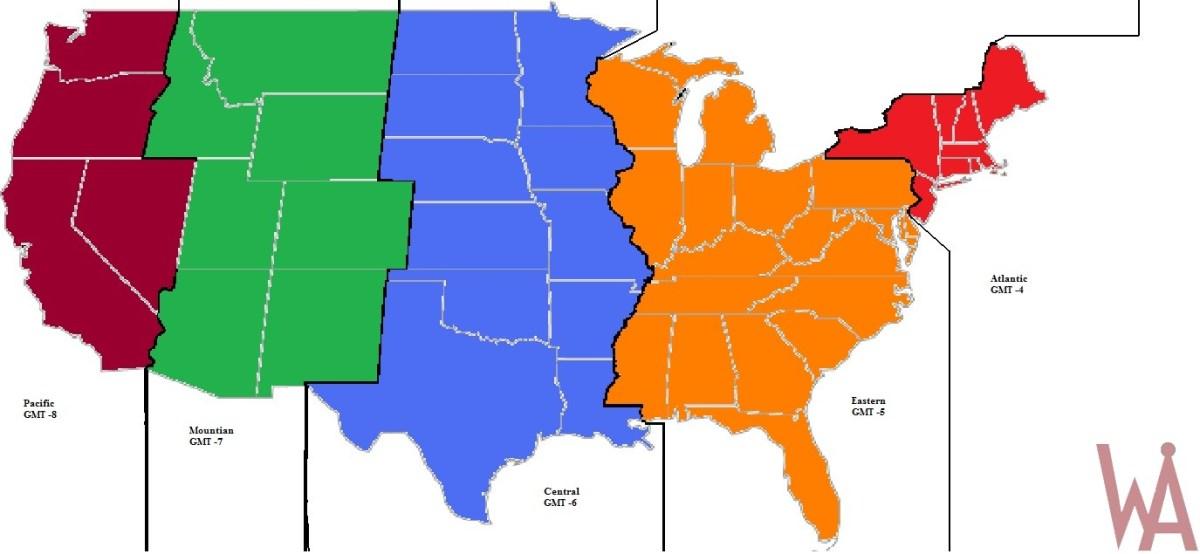 Alternate United States Map.Alternate Map Of Usa Whatsanswer