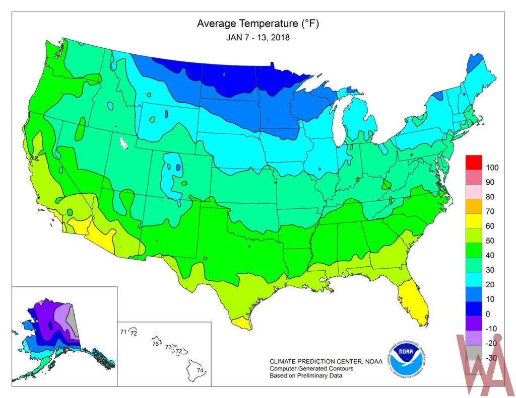 Weather Climate Maps Usa