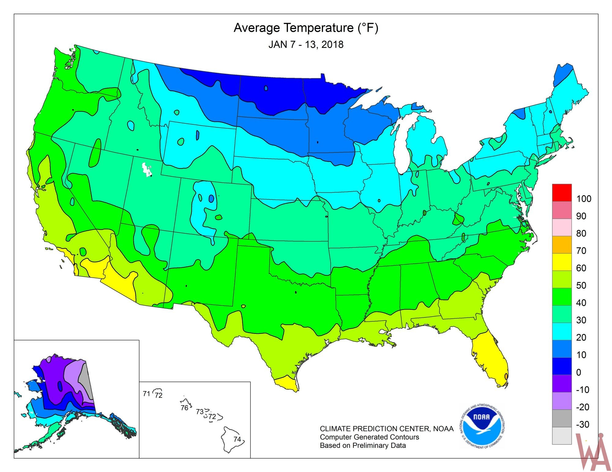 Climate Maps Of The Usa