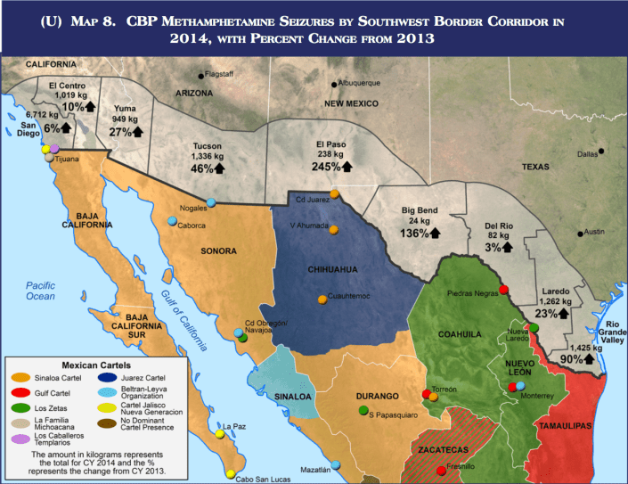 Border Map Of The USA With Mexico   WhatsAnswer