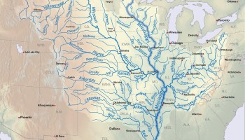 Great River Mississippi road map of the USA 2 | WhatsAnswer