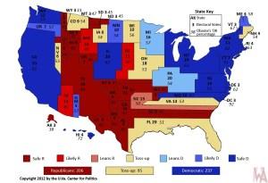 political map (Electoral College)